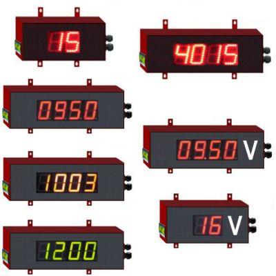 voltmètre numérique géant
