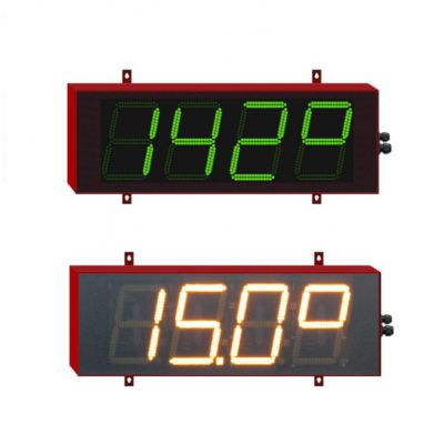 Thermomètre grand format