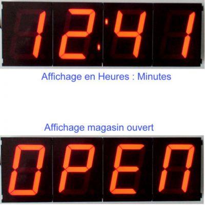 Horloge magasin