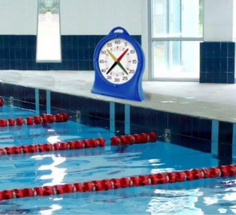 chronomètre natation 4 aiguilles