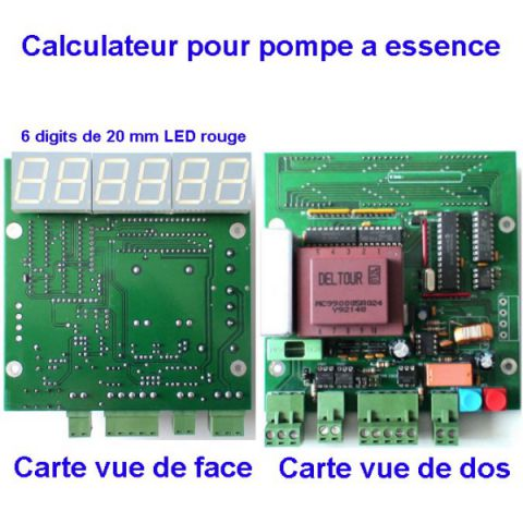 Calculateur pompe à essence