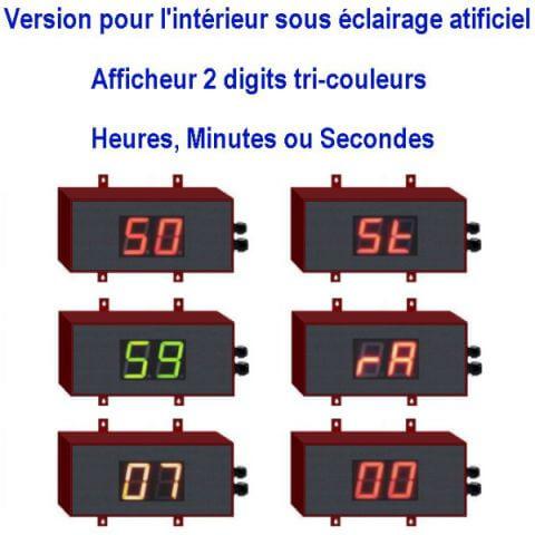 Chronomètre géant 2 digits
