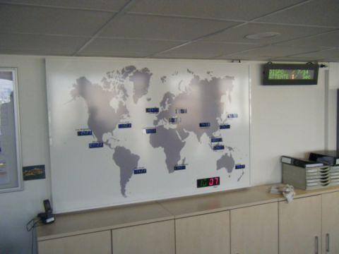 Horloge mondial