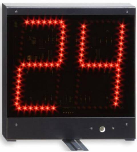 chronomètre géant 24 secondes