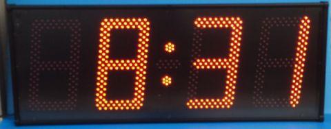 Affichage de l'heure