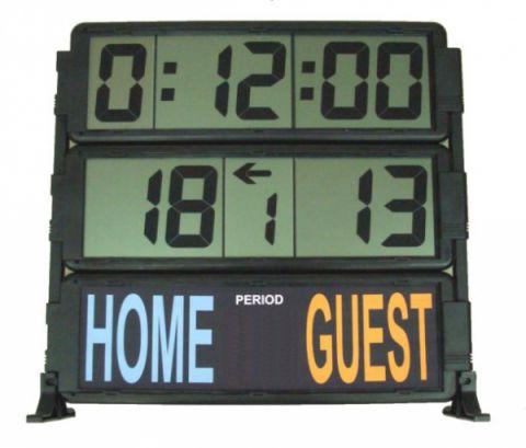 afficheur score et chronomètre