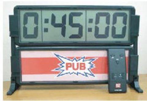 Chronomètre géant à piles