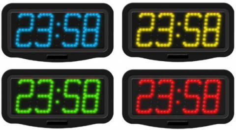 Horloge numérique géante 10cm