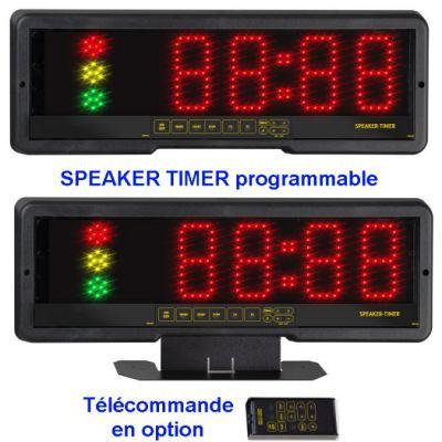 Chronomètre temps de parole