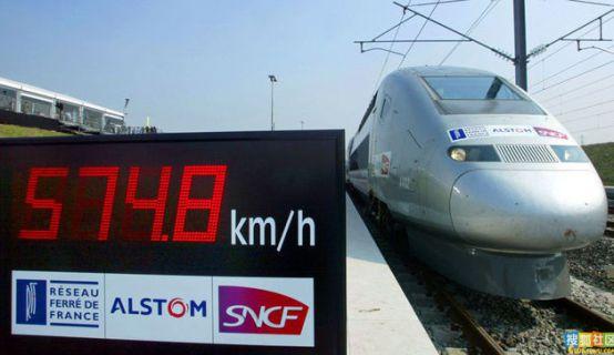 afficheurs éléctroniques ACI - affichage record TGV